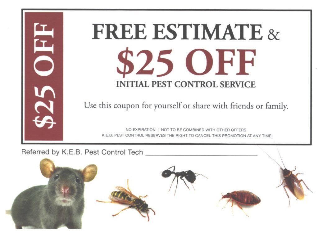 Pest Control Coupon